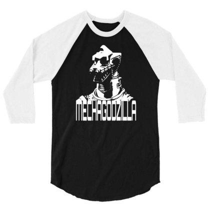 Mechagodzilla 3/4 Sleeve Shirt Designed By G3ry