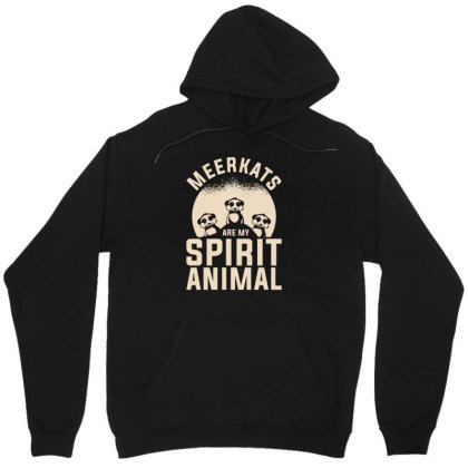 Meerkats Safari Wildlife Meerkat Unisex Hoodie Designed By G3ry