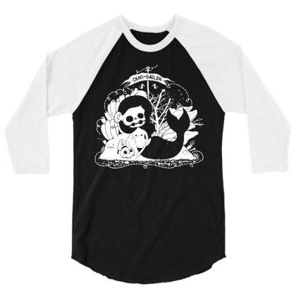 Mermaid 3/4 Sleeve Shirt Designed By G3ry