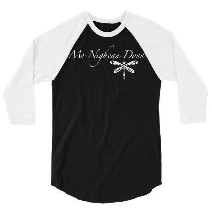 Mo Nighean Donn 3/4 Sleeve Shirt Designed By G3ry