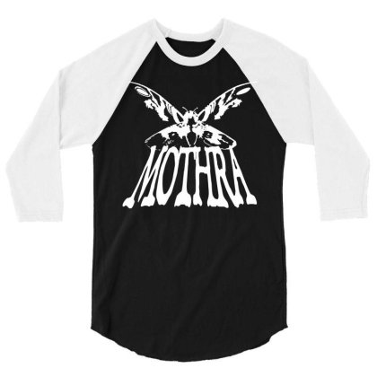 Mothra 3/4 Sleeve Shirt Designed By G3ry