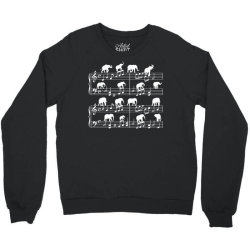 music sheet elephant Crewneck Sweatshirt | Artistshot