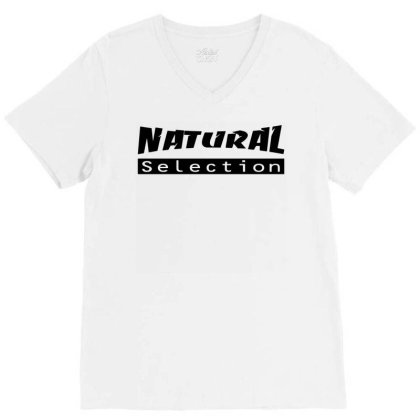 Natural Selection V-neck Tee Designed By G3ry