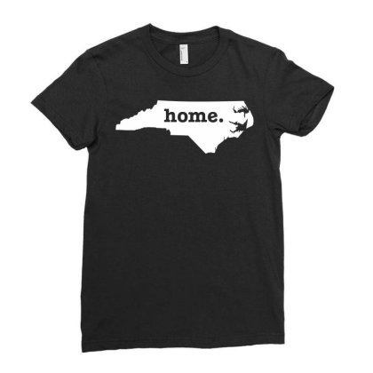 North Carolina Home Ladies Fitted T-shirt Designed By G3ry