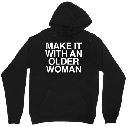 Older Woman Unisex Hoodie Designed By G3ry