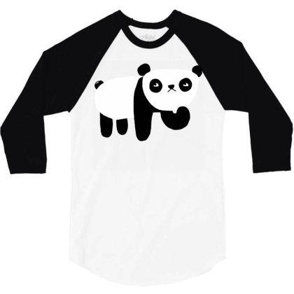 Ponder Bear 3/4 Sleeve Shirt Designed By G3ry
