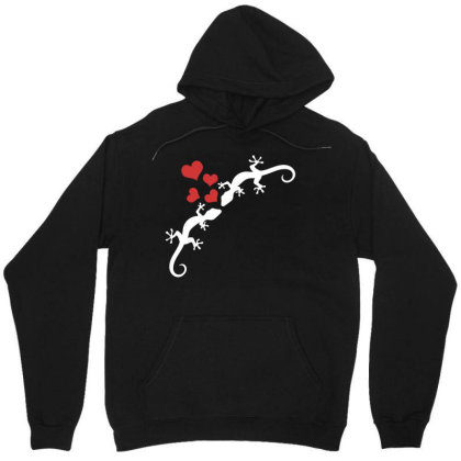 Reptile Pet Cute Gecko 1 Unisex Hoodie Designed By G3ry
