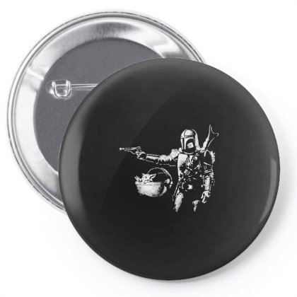 Style Pulp Mando Pin-back Button Designed By Star Store