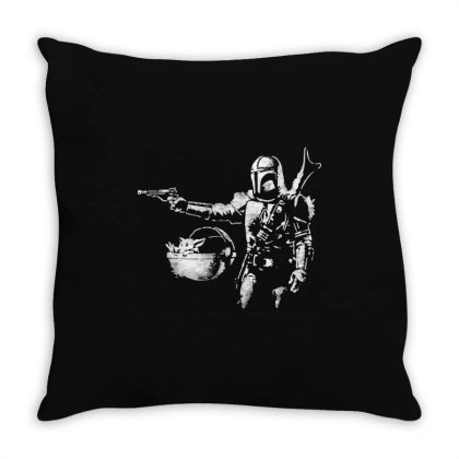 Style Pulp Mando Throw Pillow Designed By Star Store