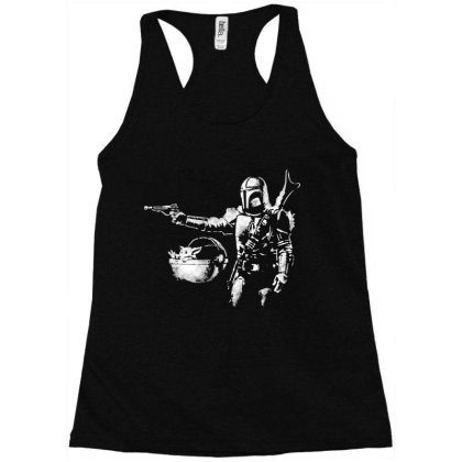 Style Pulp Mando Racerback Tank Designed By Star Store