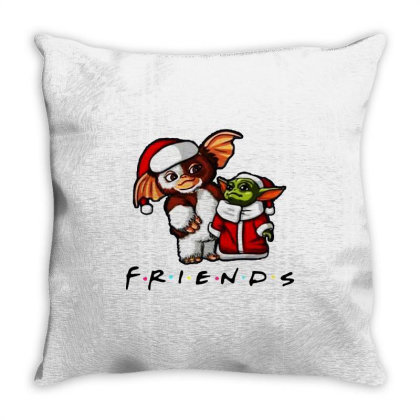 Santa Friends  2020 Throw Pillow Designed By Star Store