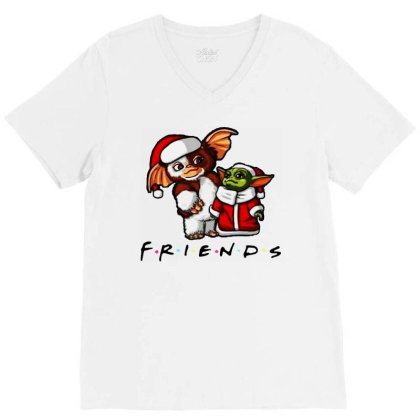 Santa Friends  2020 V-neck Tee Designed By Star Store