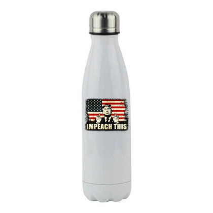 Republican Conservative Impeach This Stainless Steel Water Bottle Designed By Star Store