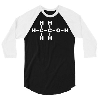 036 Science B Long Sleeve Funny Cool College School Biology Chemistry 3/4 Sleeve Shirt Designed By G3ry