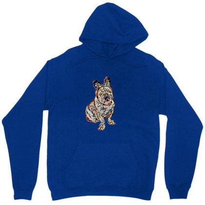 Cute Photo Of Bulldog Breed D Unisex Hoodie Designed By Kemnabi