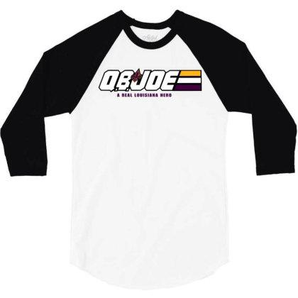 Louisiana Hero 3/4 Sleeve Shirt Designed By Star Store