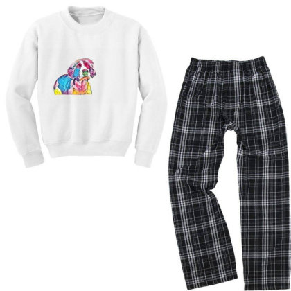 Funny Photo Of English Spring Youth Sweatshirt Pajama Set Designed By Kemnabi