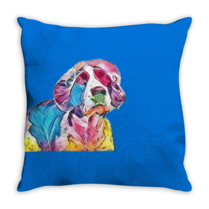 Funny Photo Of English Spring Throw Pillow Designed By Kemnabi