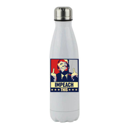Impeach This Trump Stainless Steel Water Bottle Designed By Star Store