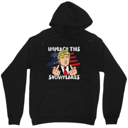 Impeach This Snowflakes Unisex Hoodie Designed By Star Store