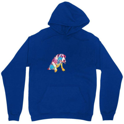 Annoyed Wet Dog Trying To Get Unisex Hoodie Designed By Kemnabi