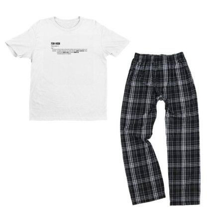 Feminism Youth T-shirt Pajama Set Designed By Disgus_thing