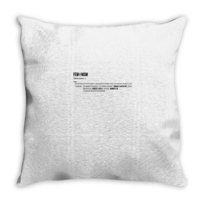 Feminism Throw Pillow Designed By Disgus_thing