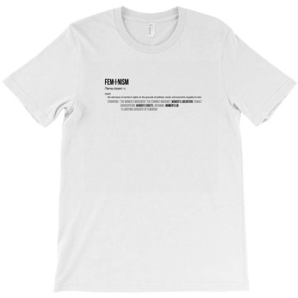 Feminism T-shirt Designed By Disgus_thing
