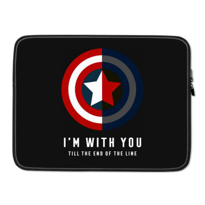 Funny Capatain Shield Laptop Sleeve Designed By Star Store