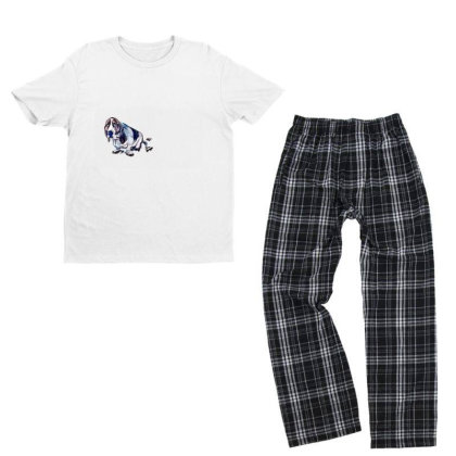 Dog With Guilty Expression An Youth T-shirt Pajama Set Designed By Kemnabi