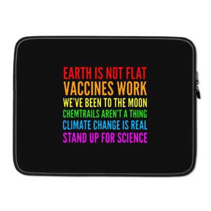 Earth Is Not Flat Laptop Sleeve Designed By Star Store