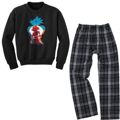 Dbz Youth Sweatshirt Pajama Set Designed By Star Store