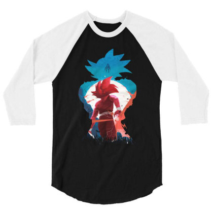 Dbz 3/4 Sleeve Shirt Designed By Star Store