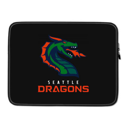Cool Dragons Laptop Sleeve Designed By Star Store