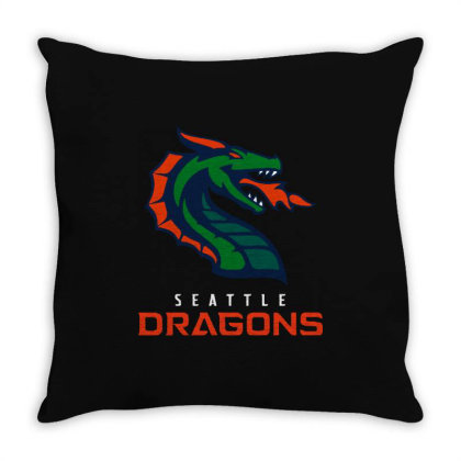 Cool Dragons Throw Pillow Designed By Star Store