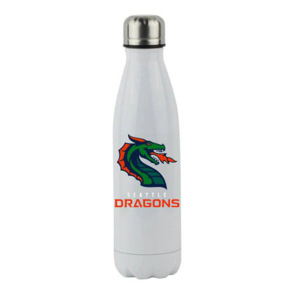 Cool Dragons Stainless Steel Water Bottle Designed By Star Store