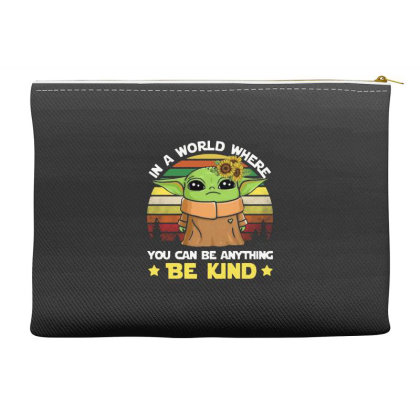 Be Kind Vintage Accessory Pouches Designed By Star Store