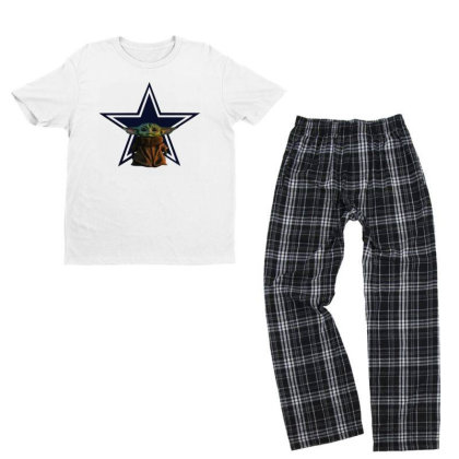 Baby Cowboys Youth T-shirt Pajama Set Designed By Star Store