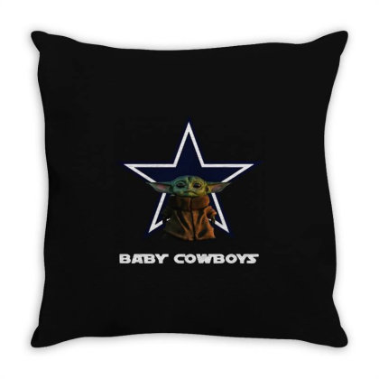 Baby Cowboys Throw Pillow Designed By Star Store