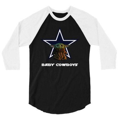 Baby Cowboys 3/4 Sleeve Shirt Designed By Star Store