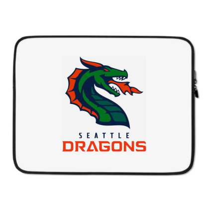 Awesome Dragons Laptop Sleeve Designed By Star Store