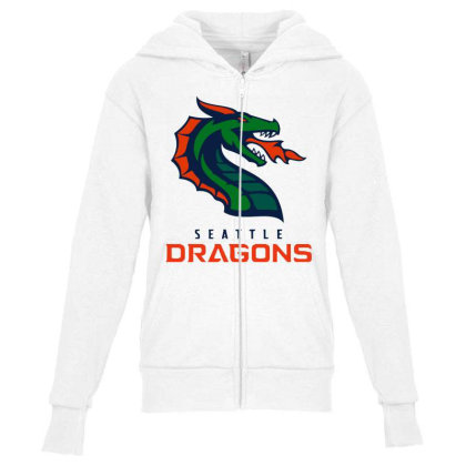Awesome Dragons Youth Zipper Hoodie Designed By Star Store