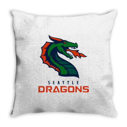 Awesome Dragons Throw Pillow Designed By Star Store