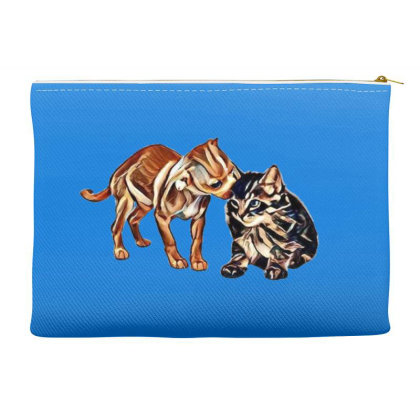 Cute Little Puppy Grooming Ki Accessory Pouches Designed By Kemnabi