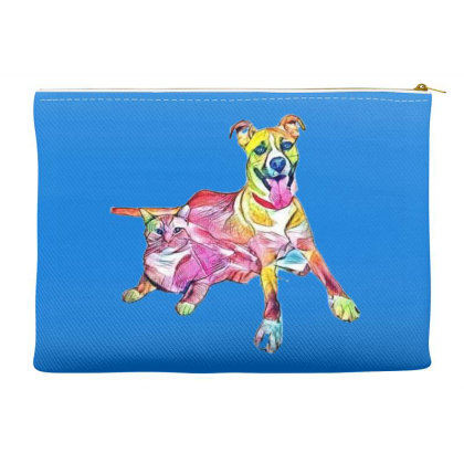 Tan Color Large Mixed Breed D Accessory Pouches Designed By Kemnabi
