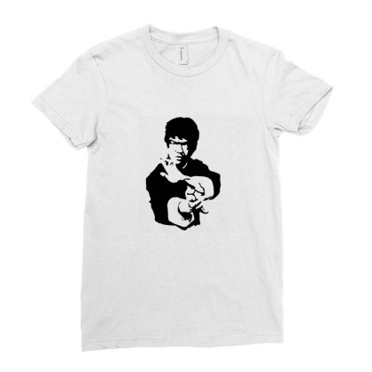 Bruce Lee Dj T Shirt Funny Birthday Cotton Tee Vintage Gift For Men Wo Ladies Fitted T-shirt Designed By G3ry