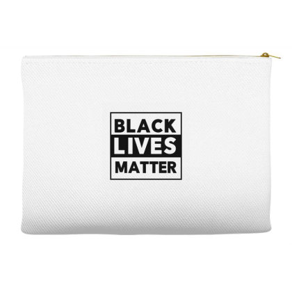Black Lives Matter Accessory Pouches Designed By Qudkin