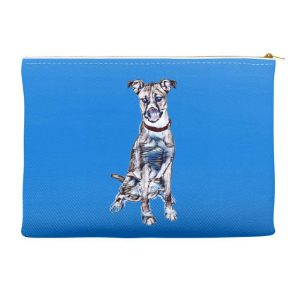 Large Tan And White Dog Sitti Accessory Pouches Designed By Kemnabi