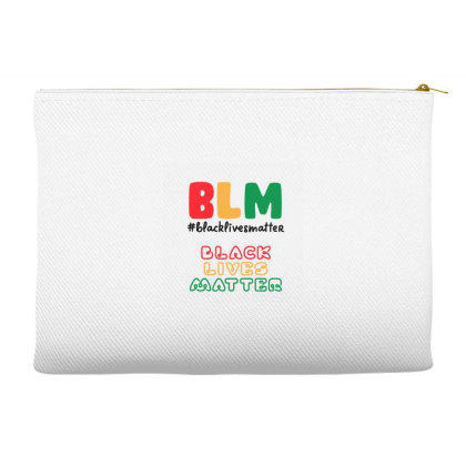 Black Lives Matter 1865 Accessory Pouches Designed By Qudkin
