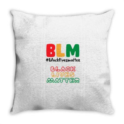 Black Lives Matter 1865 Throw Pillow Designed By Qudkin